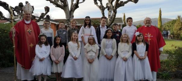 St Anne's Catholic School First Communion
